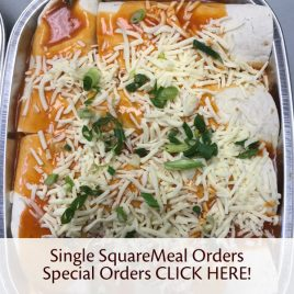 Single SquareMeal Special Orders CLICK HERE!
