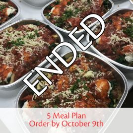 SquareMeal 5-Meal Package #8 – Order by October 9th