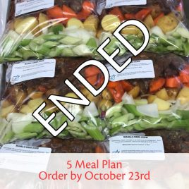 SquareMeal 5-Meal Package #9 – Order by October 23rd