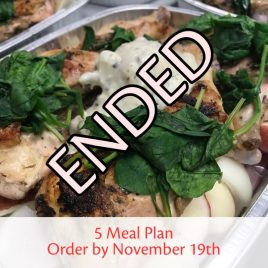 SquareMeal 5-Meal Package #10 – Order by November 13th