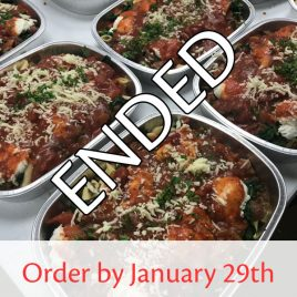 SquareMeal Package #2 – Order by January 29th
