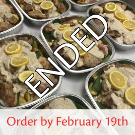 SquareMeal Package #3 – Order by February 19th