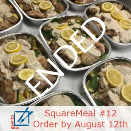 SquareMeal #12 – Order by August 12th
