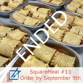 SquareMeal #13 – Order by September 9th