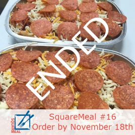SquareMeal #16 – Order by November 18th