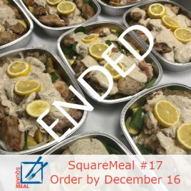 SquareMeal #17 – Order by December 16th