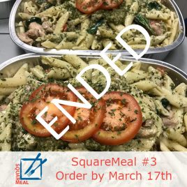 SquareMeal #3 – Order by March 17th